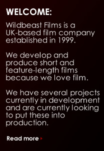 Welcome to Wildbeast Films - link to About us